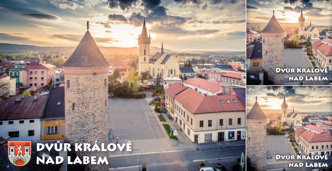 """<p rel=""""noopener"""" class=""""number"""">006  <p rel=""""noopener"""" class=""""right"""">Dvůr Králové nad Labem   </p> <p><x><br />Šindelářská věž s kostelem sv. Jana Křtitele"""