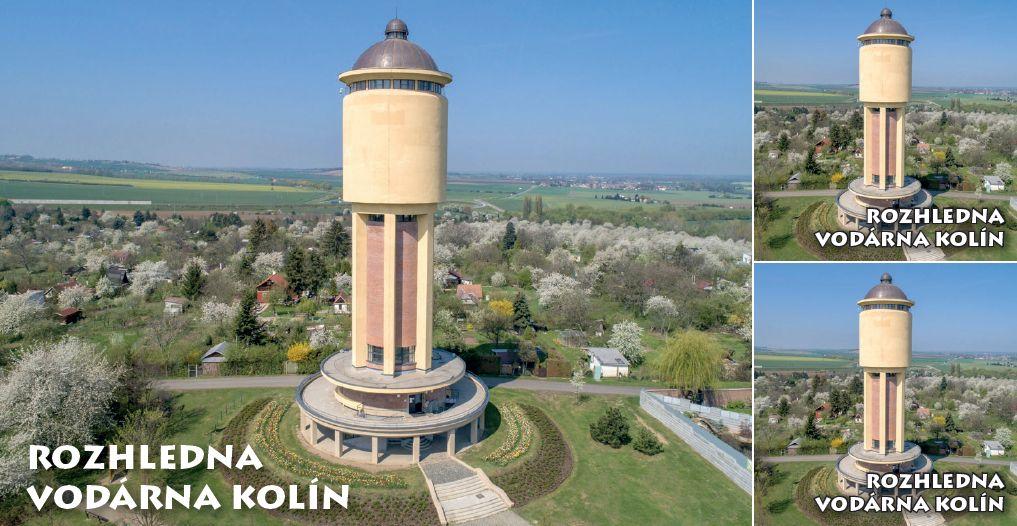 """<p rel=""""noopener"""" class=""""number"""">013  <p rel=""""noopener"""" class=""""right"""">Kolín   </p> <p><x>Rozhledna vodárna Kolín<br />Významná technická a architektonická památka."""