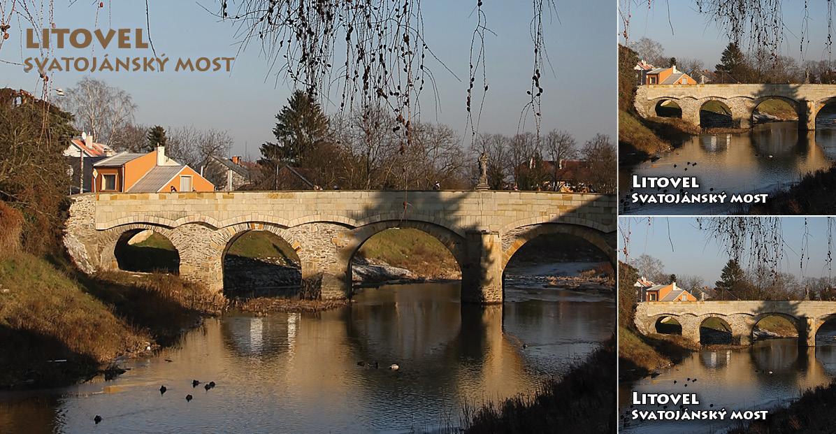 """<p rel=""""noopener"""" class=""""number"""">041  <p rel=""""noopener"""" class=""""right"""">Litovel   </p> <p><x><br />Svatojánský most – nejstarší kamenný funkční most na Moravě z roku 1592"""