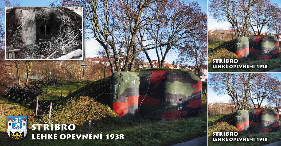 """<p rel=""""noopener"""" class=""""number"""">049  <p rel=""""noopener"""" class=""""right"""">Stříbro   </p> <p><x><br />Lehká opevnění ve Stříbře z let 1936 – 38 budovaná na obranu průmyslového centra Plzeň. Objekty jsou součástí linie,  která se dnes nazývá Plzeňská čára. Opevnění se nachází na připravované naučné stezce podél řeky Mže. <ul> <li>Vydal + foto Miroslav Lőbl Suchel(<a href=""""mailto:mls71@seznam.cz"""">mls71@seznam.cz</a>),Martin Svoboda(<a href=""""mailto:marty.svoboda@tiscali.cz"""">marty.svoboda@tiscali.cz</a>). </li> <li>Spolufinancováno městem Stříbrem.</li> </ul>"""