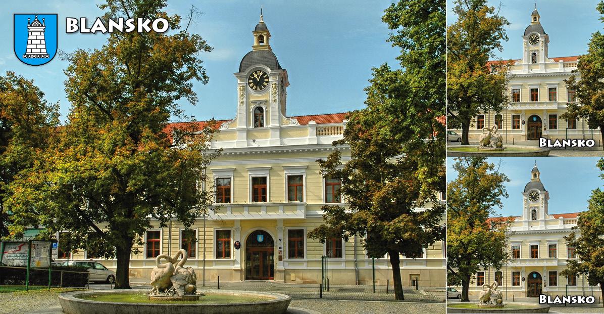 """<p rel=""""noopener"""" class=""""number"""">050  <p rel=""""noopener"""" class=""""right"""">Blansko   </p> <p><x><br />Blansko (Jihomoravský kraj) Brána Moravského krasu a město umělecké litiny.  <ul> <li>Blanenská informační kancelář Blanka</li> <li>Rožmitálova 6, 678 01 Blansko</li> <li>tel. 516 410 470, <a href=""""mailto:infocentrum@blansko.cz"""">infocentrum@blansko.cz</a></li> <li><a href=""""http://www.blansko.cz"""">www.blansko.cz</a></li>  </ul>"""